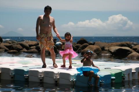 浮島の家族