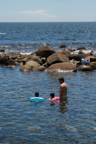 磯の海水浴場