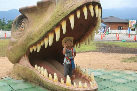 恐竜の口の恒太