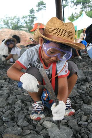 化石掘りの恒太