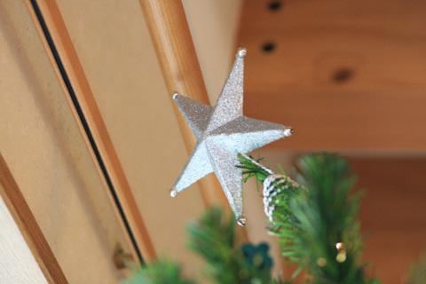ツリーの星