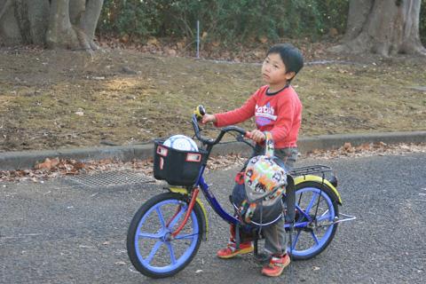 自転車の恒太
