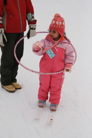 フラフープの瑞雪