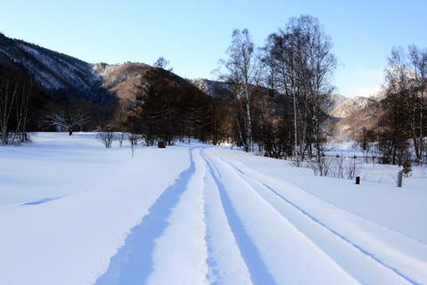 雪の乗鞍高原