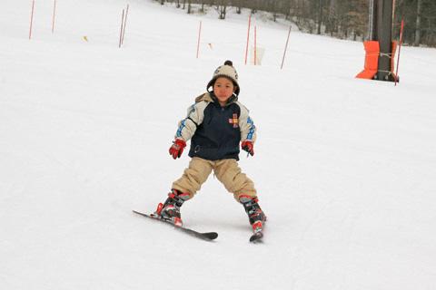 スキーの恒太