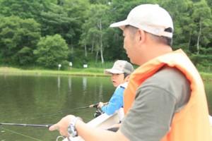 船での釣り