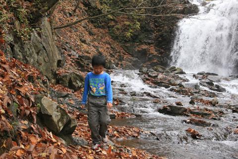 恒太と浅間大滝
