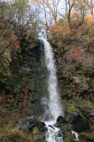 紅葉の千ヶ滝