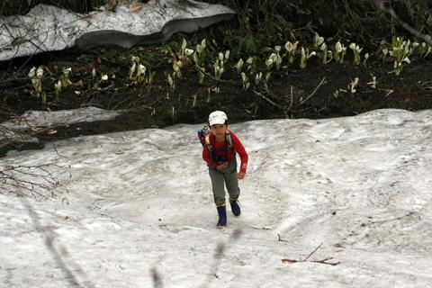 残雪と恒太