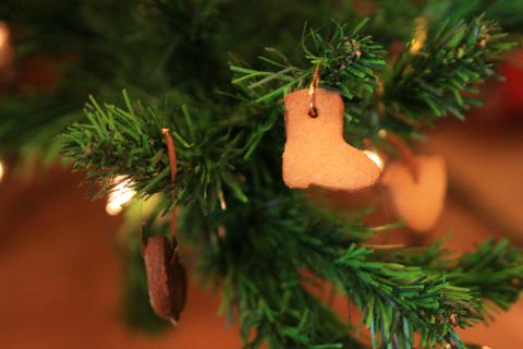 クリスマスツリーのクッキー